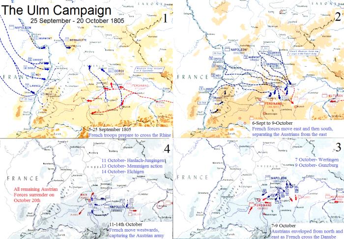 The Ulm Campaign