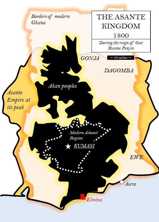 Asante Kingdom 1800